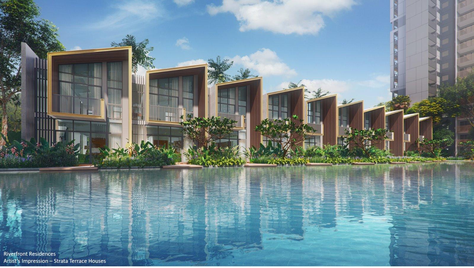 Riverfront-residences-singapore-strata-landed