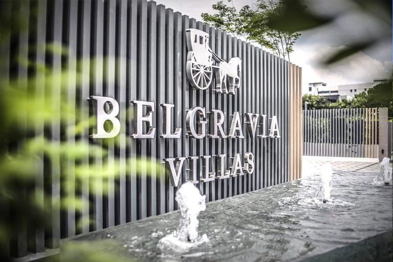 belgravia villas entrance